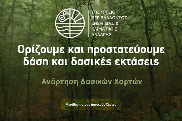 δάση, δασικές εκτάσεις, δασικοί χάρτες, ενστάσεις, αντιρρήσεις